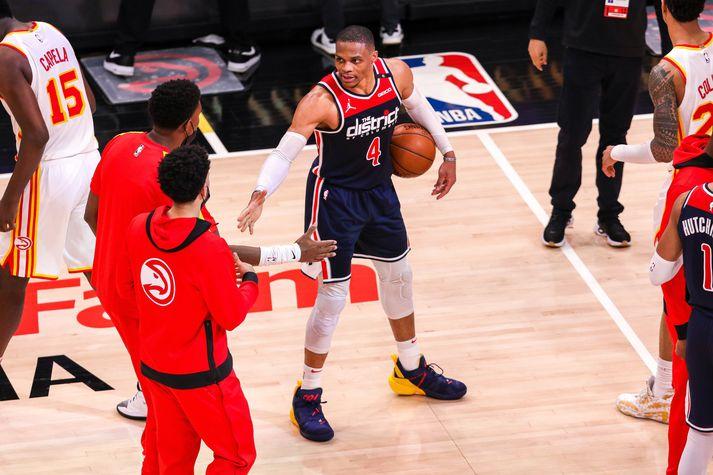 Russell Westbrook skrifaði NBA-söguna í nótt.