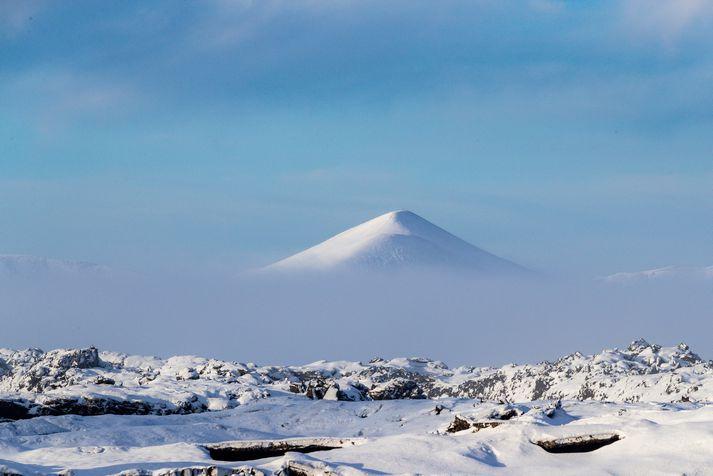 Jarðskjálftinn varð skammt frá Grindavík.