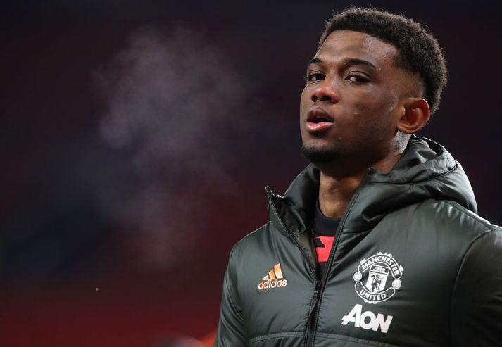 Manchester United keypti Amad Diallo frá Atalanta í vetur.