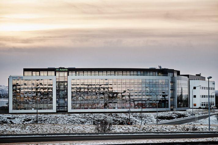 Starfsemi Actavis á Íslandi er til húsa við Reykjavíkurveg í Hafnarfirði.