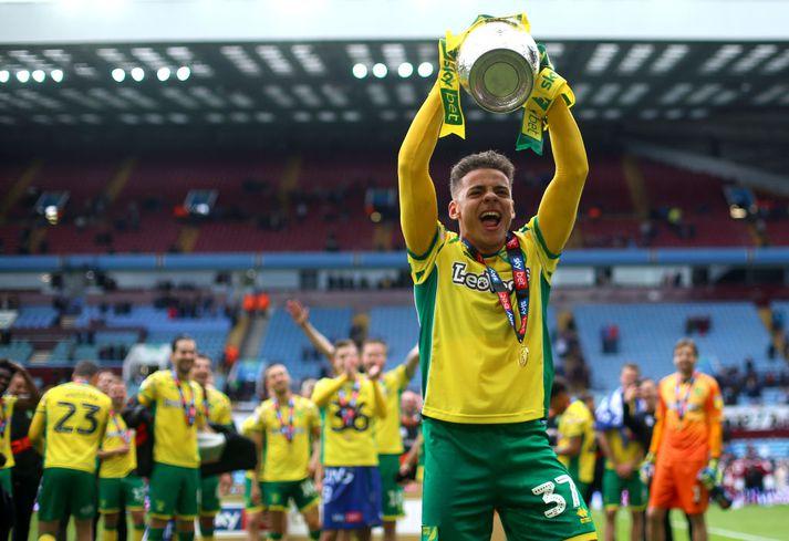 Norwich vann Championship í vor og er á leið upp í ensku úrvalsdeildina á ný