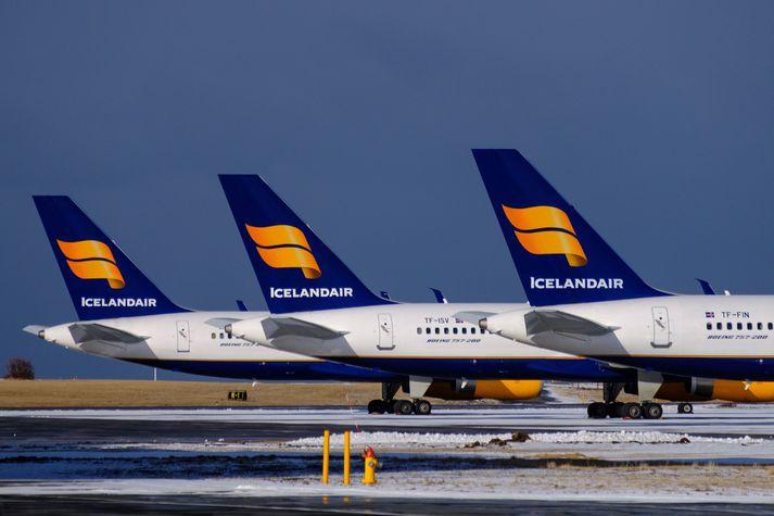 Hluthafalisti Icelandair hefur tekið breytingum.