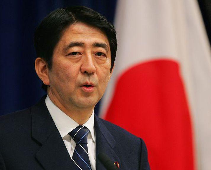 Shinzo Abe gæti verið á útleið.