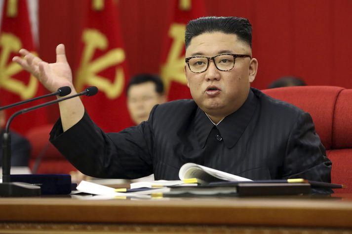 Kim Jong Uná fundikóreska verkamannaflokksinsí júní.