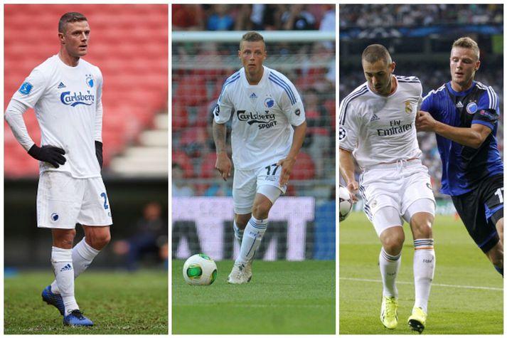 Ragnar lék marga stóra leiki með FCK. Þar á meðal í Meistaradeildinni gegn Real Madrid.