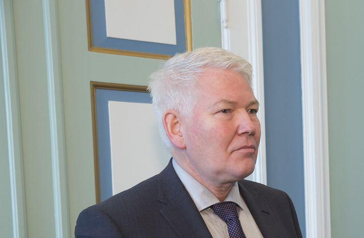 Jón Steindór Valdimarsson, þingmaður Viðreisnar.