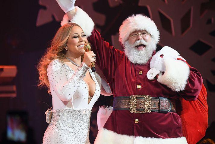 Mariah Carey mun án efa koma við sögu á Létt Bylgjunni í aðdraganda jólanna.