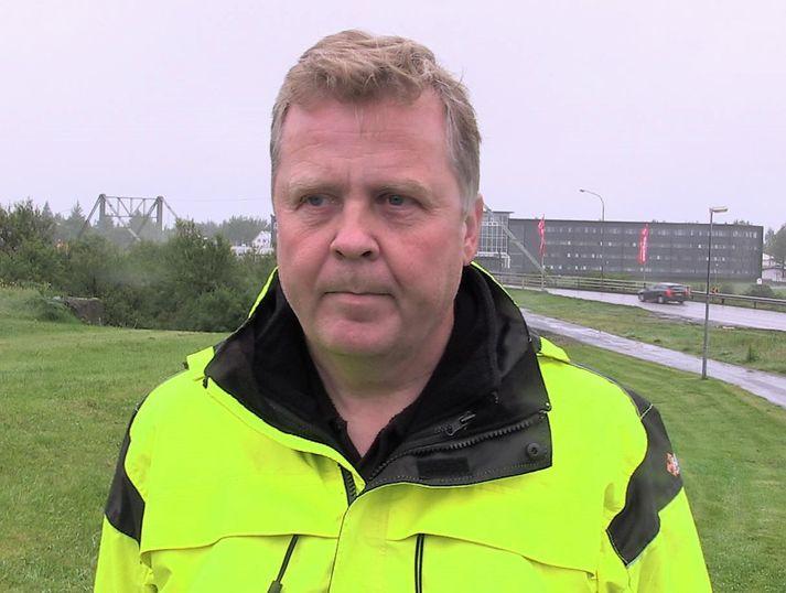 Svanur Bjarnason, umdæmisstjóri Vegagerðarinnar í Suðursvæði