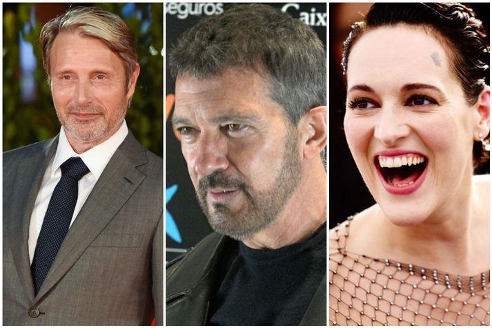 Mads Mikkelsen, Antonio Banderas og Phoebe Waller-Bridge fara með hlutverk í nýjustu Indiana Jones myndinni sem verður frumsýnd á næsta ári.