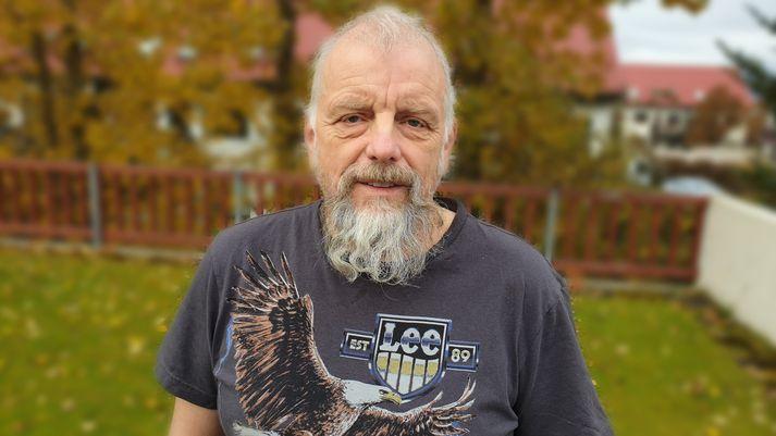Reinhold Richter trúnaðarmaður starfsmanna hjá Álverinu í Straumsvík