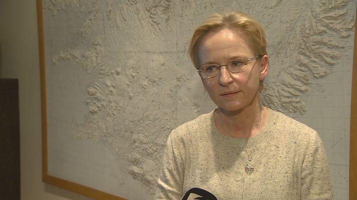 Bergþóra Þorkelsdóttir vegamálastjóri.