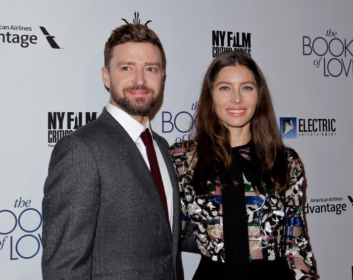 Hjónin Justin Timberlake og Jessica Biel heimsóttu Ísland fyrir um ári síðan.