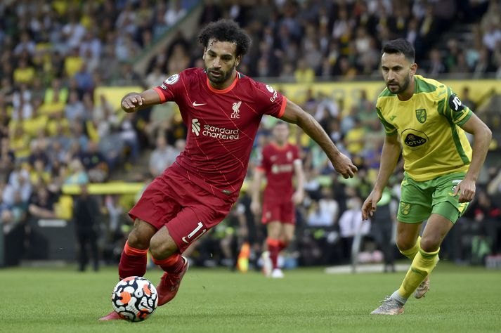 Mo Salah vill fá væna launahækkun ef hann skrifar undir nýjan samning við Liverpool.