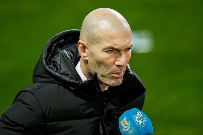 Zinedine Zidane virðist ekki ætla að stýra Real Madrid á næstu leiktíð.