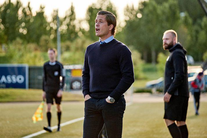 Jóhannes Karl Guðjónsson fær það verkefni að koma ÍA aftur upp í Pepsi-deildina.