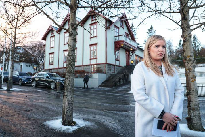 Áslaug Arna Sigurbjörnsdóttir dómsmálaráðherra.