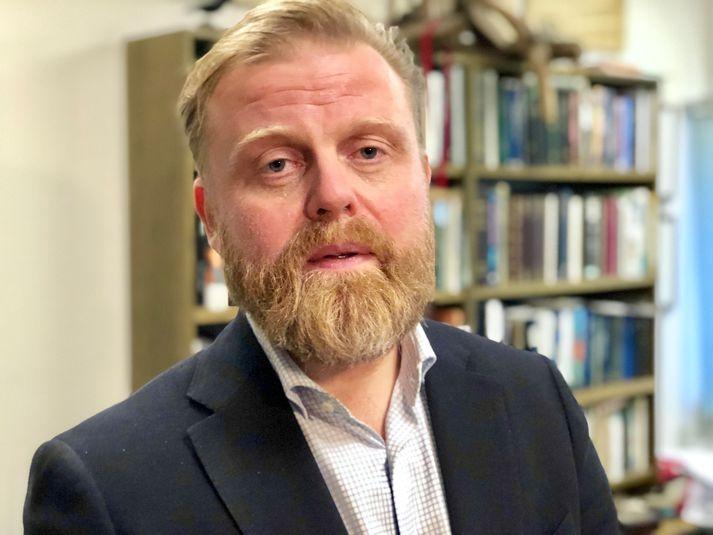 Ásgeir Jónsson dósent í hagfræði við Háskóla Íslands.