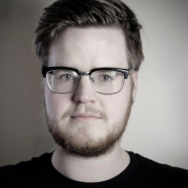 Ísfirski listamaðurinn Gunnar Jónsson.