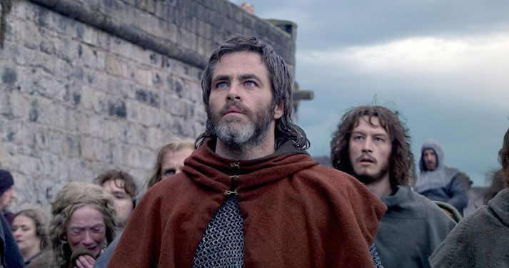 Chris Pine sem Robert Bruce í myndinni Outlaw King.