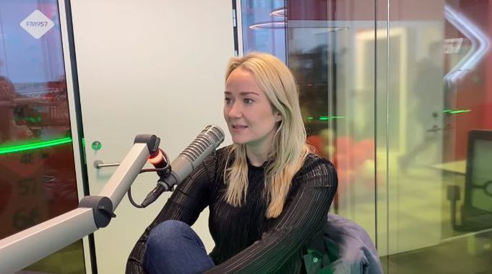 Kristjana Arnarsdóttir hefur verið spyrill í Gettu Betur undanfarin tvö ár.