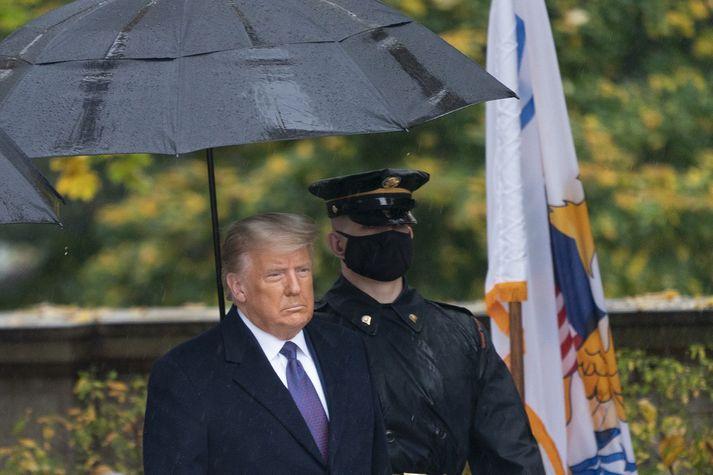 Donald Trump, forseti Bandaríkjanna.