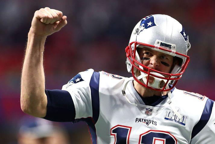 Tom Brady vann Super Bowl í sjötta sinn.