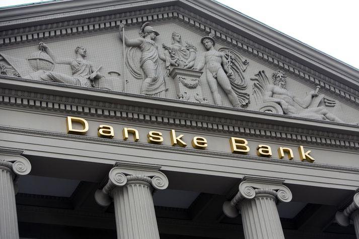 Virði hluta í Danske Bank hefur hríðfallið vegna málsins.