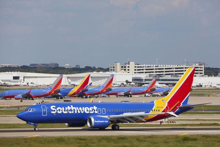 Southwest er það flugfélag heims sem pantað hafði flestar og komið var með flestar Boeing 737 MAX-þotur í notkun þegar þær voru kyrrsettar fyrir nærri fimmtán mánuðum.