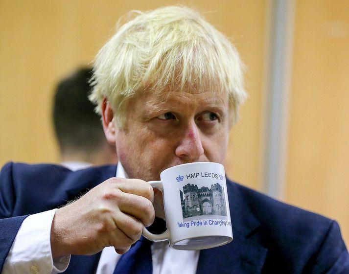 Kjósi Johnson forsætisráðherra að senda þingið heim til að binda hendur þess gagnvart Brexit nyti hann stuðnings stórs hluta bresku þjóðarinnar.