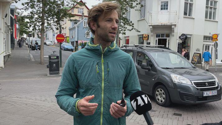 Ísland er eitt af uppáhaldslöndum Markus Wendt.
