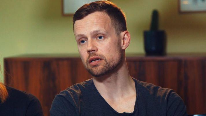 Konráð Pálmason flutti til Svíþjóðar með eiginkonu sinni og þremur drengjum árið 2016.
