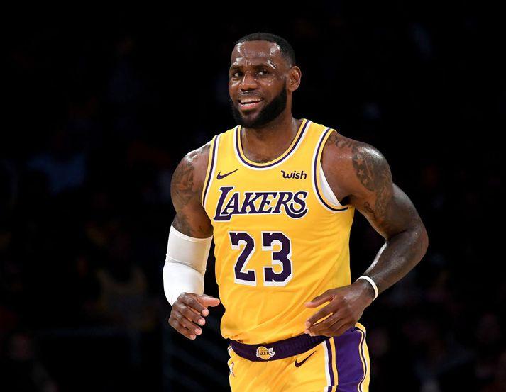 Endurheimtir Lakers NBA titilinn í Disneylandi?