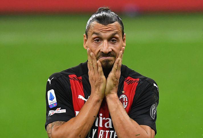 Zlatan Ibrahimovic neyðist til að halda sig frá fótboltavellinum á næstunni.