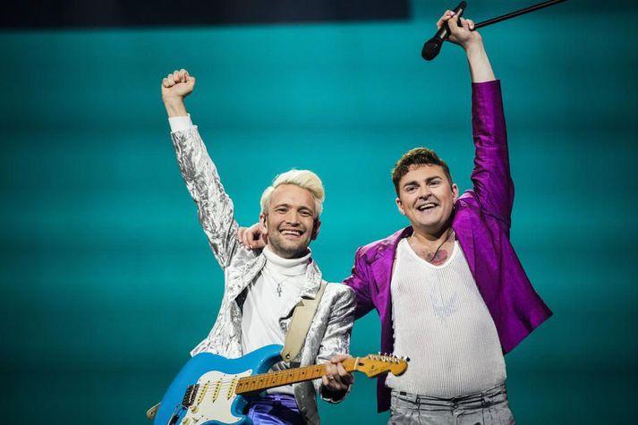Fyr & Flamme munu flytja framlag Dana í Eurovision 2021.
