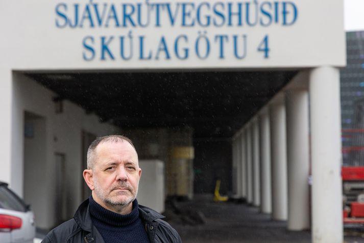 Björn Gunnarsson starfaði hjá Hafrannsóknarstofnun í 26 ár. Stofnunin var við Skúlagötu þar til hún flutti í Hafnarfjörð í fyrra.