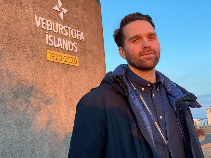 Einar Bessi Gestsson, náttúruvársérfræðingur hjá Veðurstofu Íslands.
