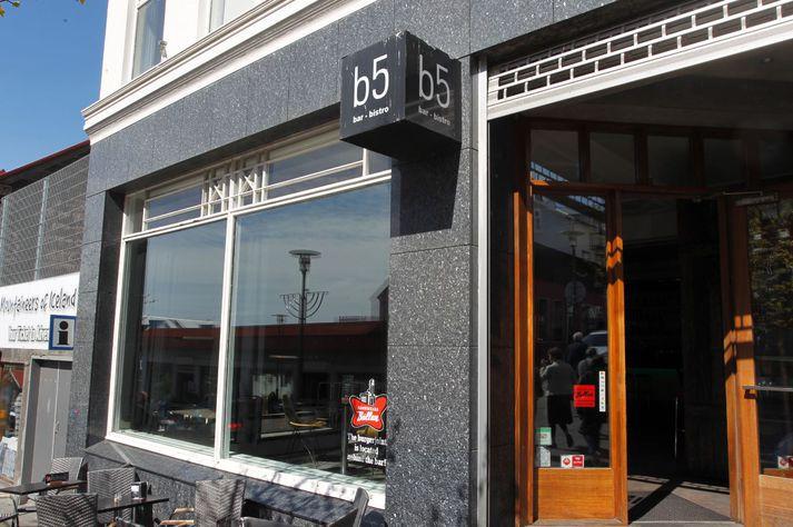 B5 við Bankstræti 5 er einn vinsælasti skemmtistaður landsins.