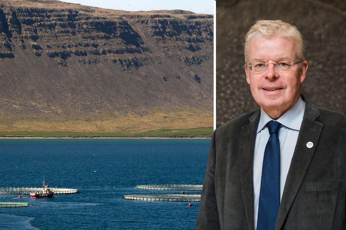 Einar K. Guðfinnsson, formaður Landsambands fiskeldisstöðva, segir niðurstöðu Hafró viðhalda þeirri óvissu sem verið hafi um frekari uppbyggingu laxeldis.