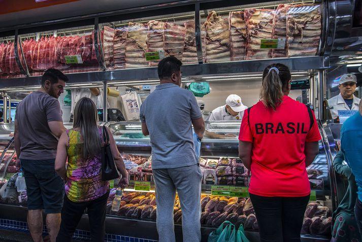 Brasilía er einn af heimsins stærstu útflytjendum kjúklings.