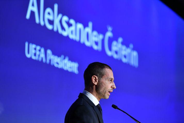 Alexander Ceferin, forseti UEFA.