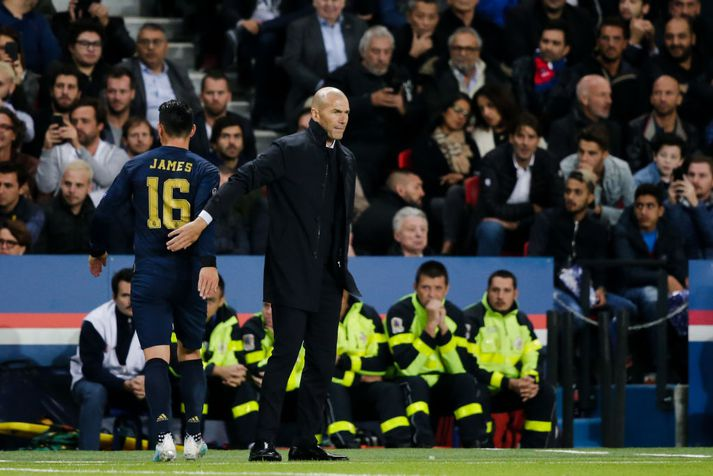 Zinedine Zidane er sagður undir pressu