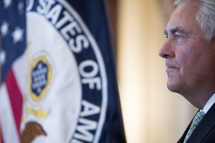 Tillerson er diplómatískari um hvað Kínverjar geti gert í málefnum Norður-Kóreu en Trump forseti.