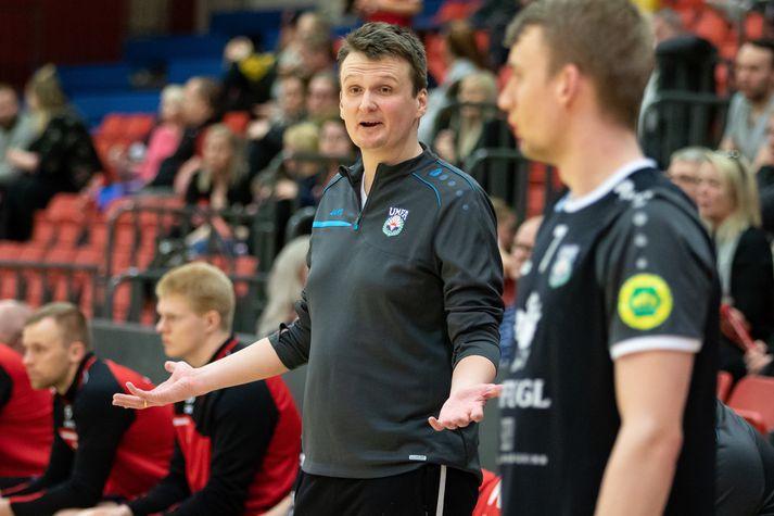 Einar Andri fer sáttur heim frá Vestmannaeyjum í kvöld