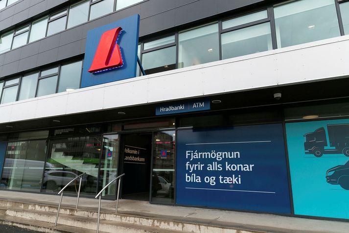 Svikahrappar reyna að láta líta út fyrir að skeytin komi frá Landsbankanum. Það er ekki rétt.