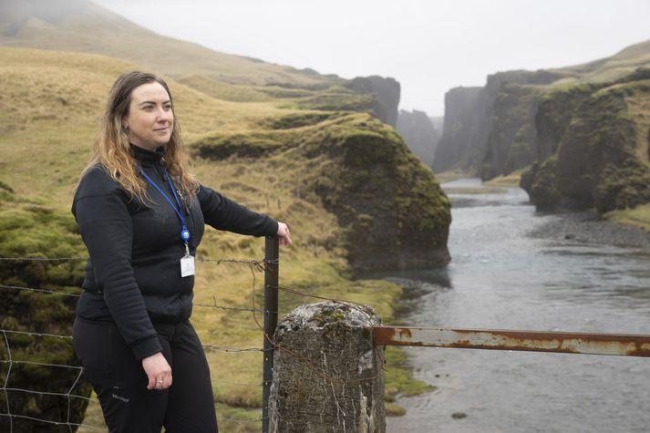 Hanna Jóhansdóttir, landvörður.