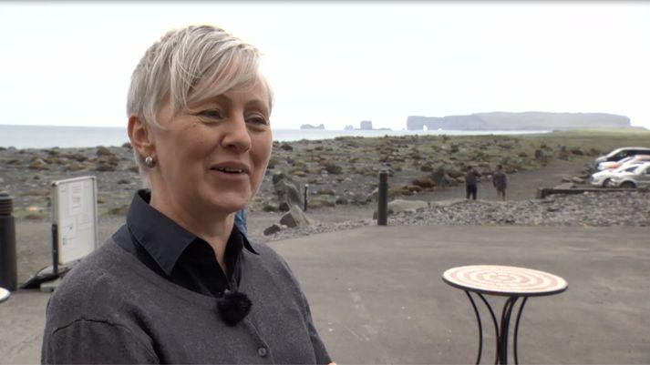 Halla Ólafsdóttir, bóndi í Þórisholti og rekstrarstjóri veitingahússins Svörtu fjörunnar.