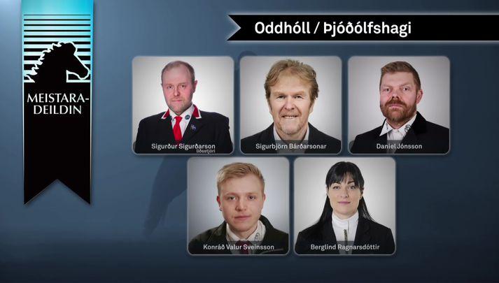Lið Oddhóls/Þjóðólfshaga.
