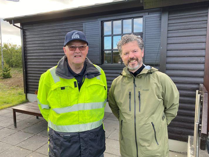 Guðjón Óskarsson, Reykvíkingur ársins ásamt Degi B. Eggertssyni borgarstjóra.