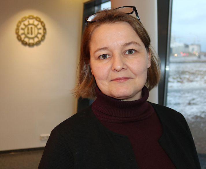 Drífa Snædal, forseti ASÍ.