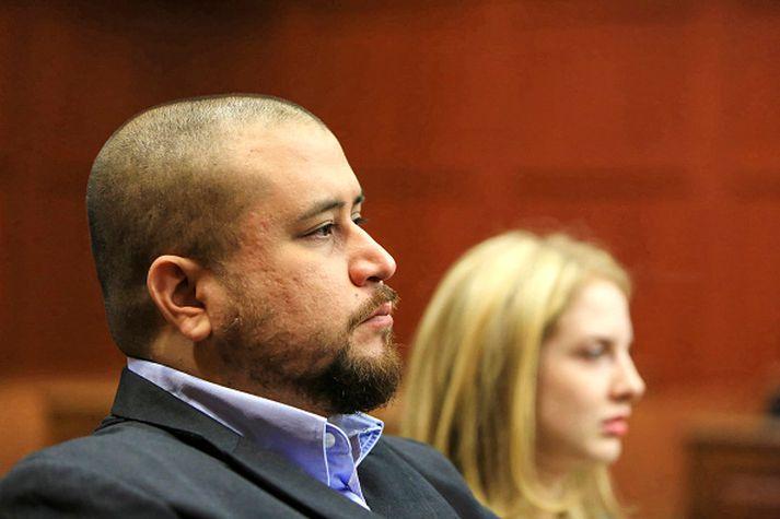 George Zimmerman skaut hinn 17 ára gamla Trayvon Martin til bana árið 2012 og olli morðið mikilli reiði í Bandaríkjunum.